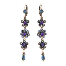 Michal Negrin Helen Purple Earrings