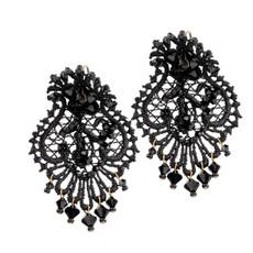 Michal Negrin Lollita Lace Earrings