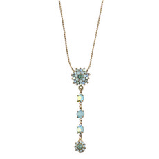 Michal Negrin Sun Swarovski Crystals Necklace