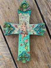 Michal Negrin God of Love Cupid Wall Cross