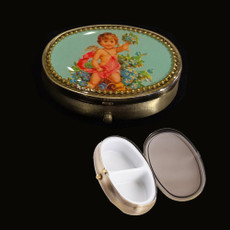 Michal Negrin Angel Pill Box