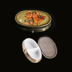 Michal Negrin Boys Protective Angel Wings Pill Box