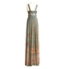 Michal Negrin Fashionable Swarovski crystals Maxi Dress Size M