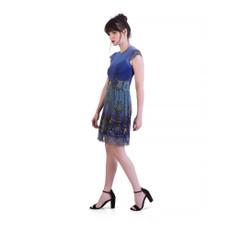 Michal Negrin Bryce Mesh Mini Dress