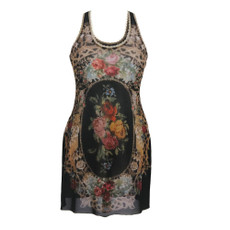 Michal Negrin Roses Tunic