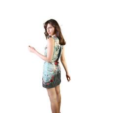 Michak Negrin Max Mini Swarovski Crystals Size Medium Dress