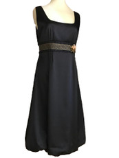 Michal Negrin Black Formal  Dress