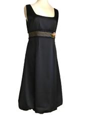 Michal Negrin Black Formal  Dress