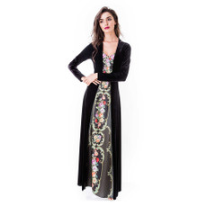 Michal Negrin Pola Luxurious Velvett Dress
