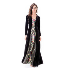 Michal Negrin Pola Luxurious Velvett Dress