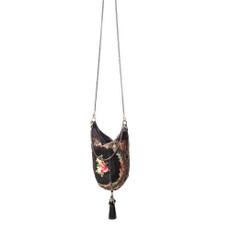 Michal Negrin Sunset Velvet Handbag