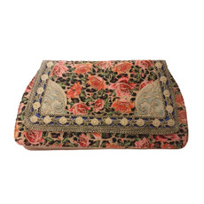 Michal Negrin Cutch Bag Printed Velvet