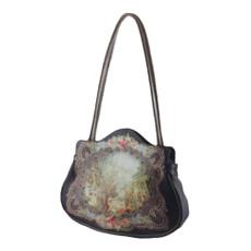 Michal Negrin Lennox Velvet Handbag