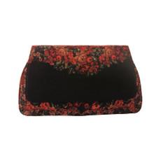Michal Negrin Clutch Printed Velvet Handbag
