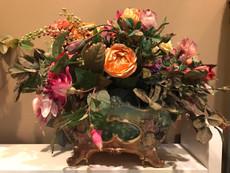 Michal Negrin Jolie Flowers Porcelain Vase