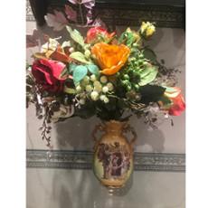 Michal Negrin La Fleur Porccelain Vase