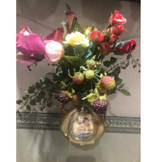 Michal Negrin Romantic Endless Crystal Roses Vase