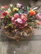 Michal Negrin Romantic Roses Vase Decor