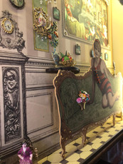 Michal Negrin Limited Edition 3D Victorian Fireplace Shadow Box