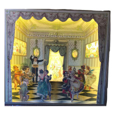 Michal Negrin Limited Edition Victorian Ballroom Gala Shadow Box