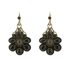 Michal Negrin Midnight Flower Earrings