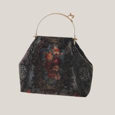 Michal Negrin Phoenix velvet handbags