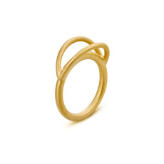 Joidart Luna Gold Ring Size 6