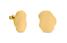 Joidart Expressionista Gold Small Stud Earrings