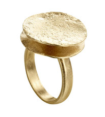 Joidart Freda Small Gold Ring Size 8