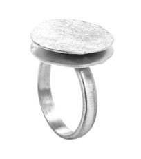 Joidart Freda Small Silver Ring Size 6
