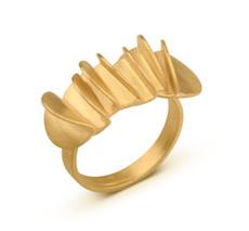 Joidart Plecs Gold Ring Size 7