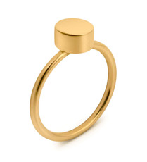 Joidart Toujours Round Gold Ring Size 7