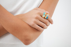 Joidart Moitie Aribau Gold Ring Size 7
