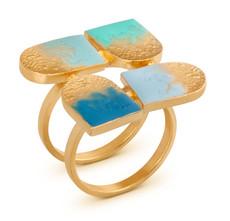 Joidart Moitie Aribau Gold Ring Size 8