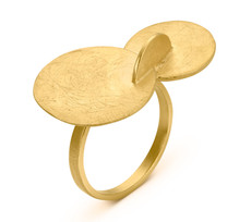 Joidart Soleil Gold Ring Size 7