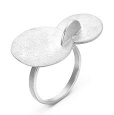 Joidart Soleil Silver Ring Size 8
