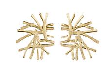 Joidart Figura Medium Post Gold Earrings