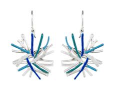 Joidart Figura Wire Silver Earrings