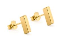 Joidart Toujours Bar Gold Earrings