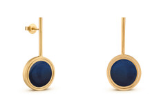 Joidart Rever Reversible Post Drop Earrings Gold