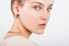 Joidart Sinousa Small Post Gold Earrings