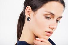 Joidart Sinousa Small Post Silver Earrings