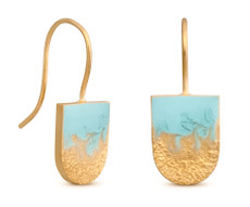 Joidart Moitie Aribau Wire Gold Earrings