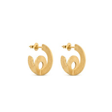 Joidart Cercles Small Hoop Gold Earrings