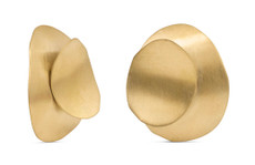 Joidart Magnolia Large Stud Gold Earrings
