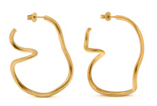 Joidart Tramuntana Large Gold Earrings