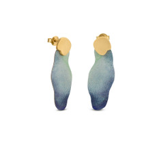 Joidart Expressionista Medium Earrings With Blue
