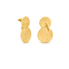 Joidart Soleil Large Double Gold Earrings