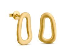 Joidart Meandres Small Stud Gold Earrings