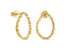 Joidart Constellation Small Stud Gold Earrings